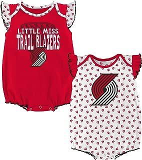 Outerstuff NBA Newborn NBA Newborn & Infant Heart Fan 2 Piece Onesie