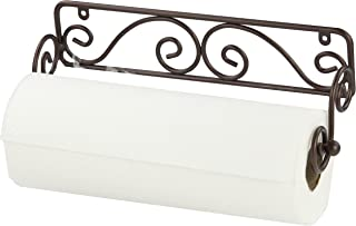 Home Basics Bronze Wall Mounted Paper Towel Holder