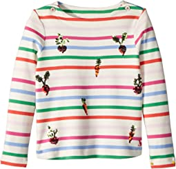 Joules Kids - Striped Jersey Top (Toddler/Little Kids/Big Kids)