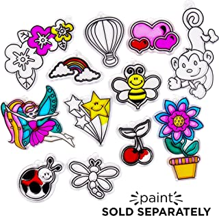 Made By Me Assorted Suncatchers Refill Pack 12 pk Horizon Group USA
