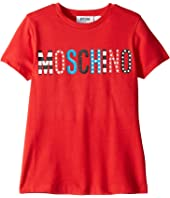 Moschino Kids - T-Shirt w/ Multicolor Logo (Little Kids/Big Kids)