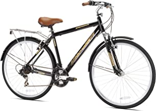 Kent Springdale Men's Hybrid Bicycle, Black