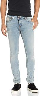 Nudie Unisex Tight Terry Electric Ocean Jeans