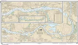 Paradise Cay Publications NOAA Chart 12314: Delaware River Philadelphia to Trenton, 26.5 X 45.8, TRADITIONAL PAPER