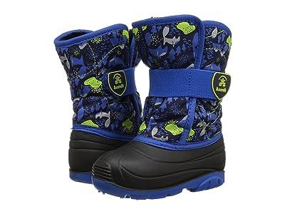 Kamik Kids Snowbug 4 (Toddler) (Navy/Blue) Boys Shoes