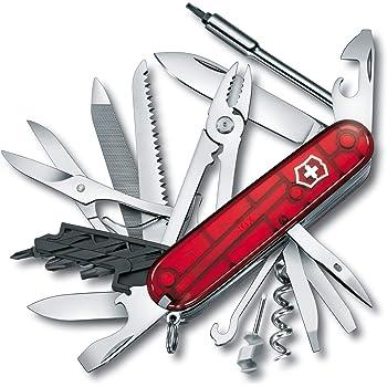 VICTORINOX(ビクトリノックス) ナイフ 精密ドライバーセット PC 分解 DIY 工具セット サイバーツール L 【国内正規品 保証付】1.7775.T