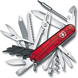 Victorinox Navaja Cybertool, Roja Transparente, 39 Usos