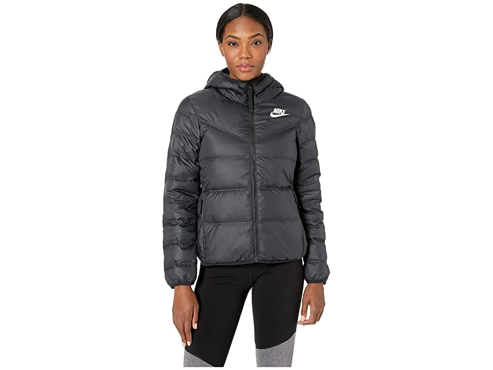 Nike Nike Sportswear Windrunner Down Fill Jacket Reversible (Black/White/White) Women