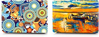 """Xact (PACK OF 2) Removable 3m Vinyl Skin Sticker For Apple Macbook Pro 13"""" (Combo 2)"""