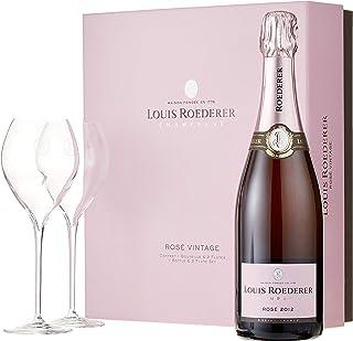 Louis Roederer Champagne Brut Rosé Genuss zu Zweit Geschenkpackung Roséchampagner 1 x 0.75 l