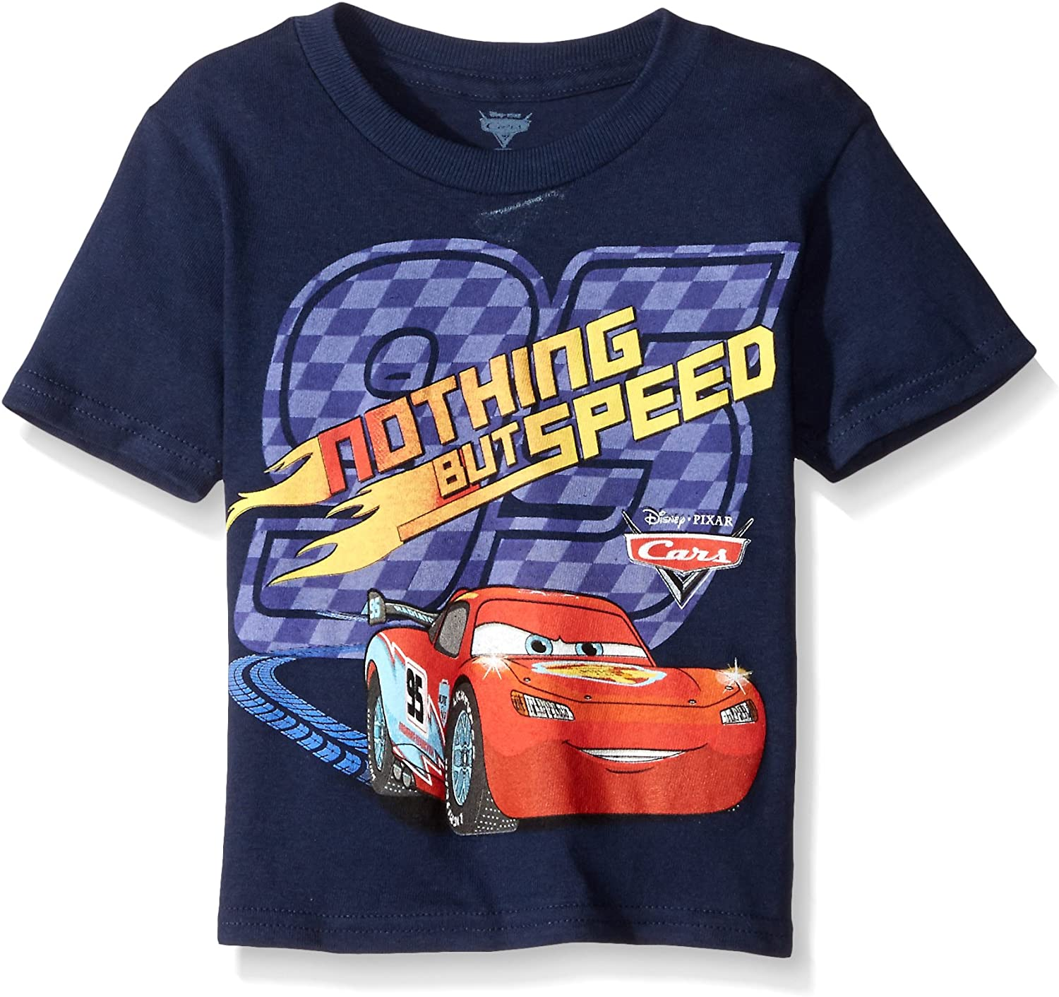 Freeze Kids Boys Disney Cars Nothing But Speed Toddler Boys TShirt 2T