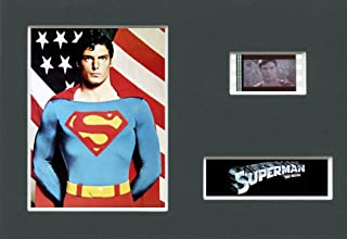 SUPERMAN - Mounted 35mm Movie Film Cell