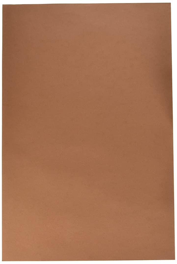 Tru-Ray Sulphite Construction Paper, 12 x 18 Inches, Warm Brown, 50 Sheets