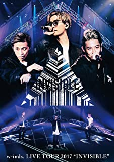 """w-inds. LIVE TOUR 2017 """"INVISIBLE""""通常盤DVD"""
