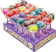 Linda's Lollies Gourmet Lollipops 24 Count Box Assorted Flavors – Nut, Gluten..