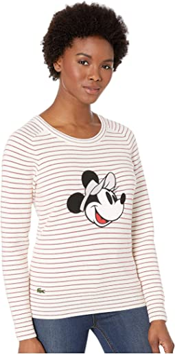 Long Sleeve Crew Neck Disney Sweater