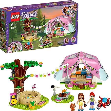 LEGO Friends 41392 LeCampingGlamourdanslaNature avec Mini Poupées, Jouet pour Filles et Garçons de 6 Ans et +
