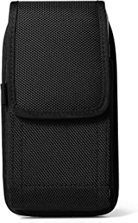 Rugged Nylon Vertical Belt Clip Holster Case for Samsung Galaxy S8 Active/Note FE / S8 / J5 J7 A5 A7 / J7 Pro / J7 Max / J...