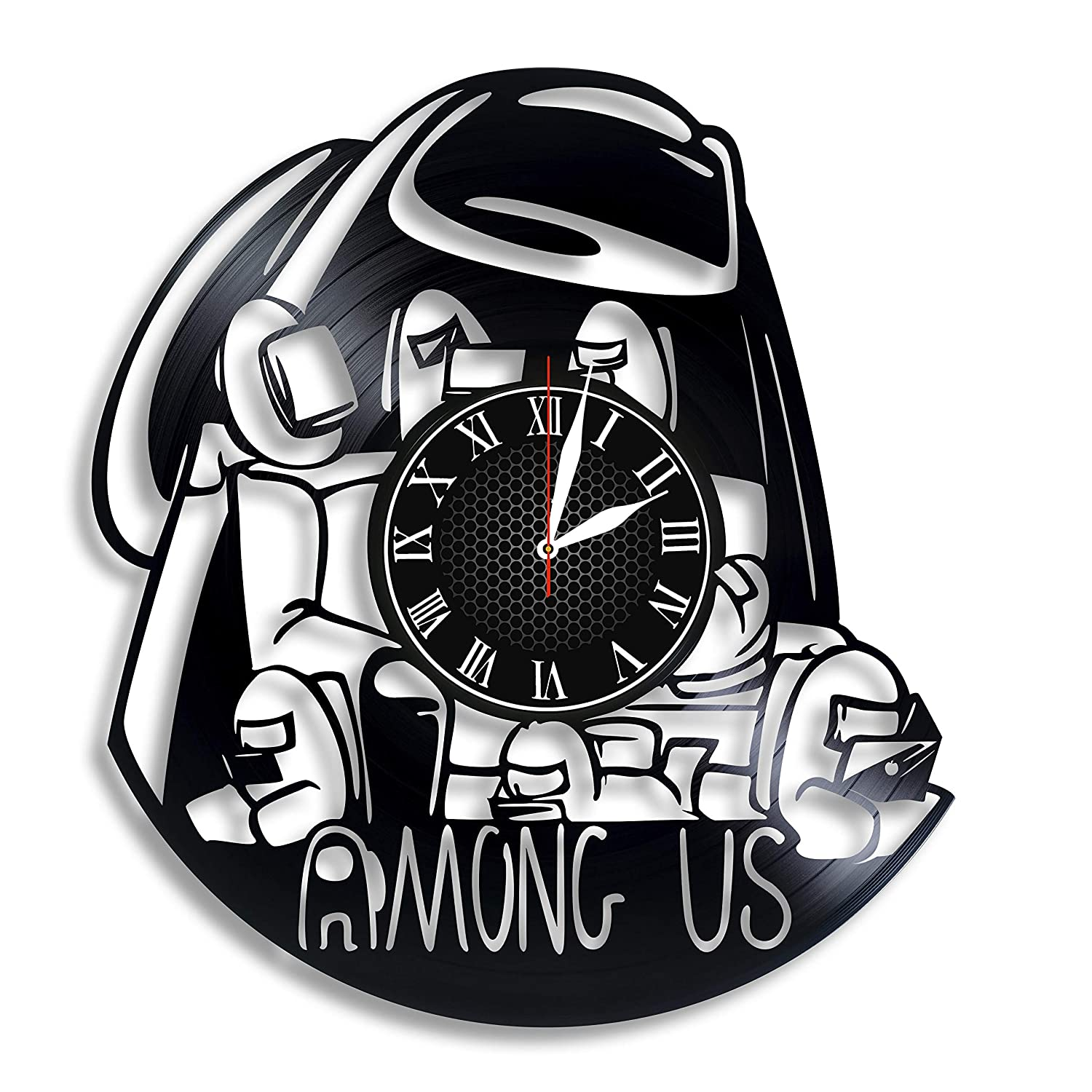 Among Us Max 89% OFF Video Game Clock San Diego Mall Record Vinyl Wall