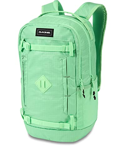 Dakine URBN Mission 23L Backpack (Dusty Mint Ripstop) Backpack Bags