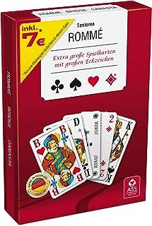 ASS Altenburger 22570076 – Rommé Senioren, Kartenspiel