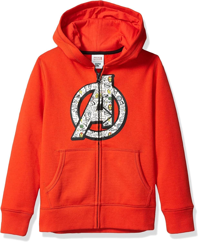 Essentials Boys Disney Star Wars Marvel Fleece Zip-up Sweatshirt Hoodies