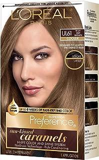 Pref Ult Ash Brwn Ul61 Size Ea L'Oreal Preference Ultra Lightening Hair Color Ultra Light Ash Brown #Ul61