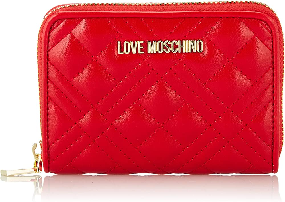 Love moschino portafoglio porta carte di credito in pelle sintetica JC5622PP0A