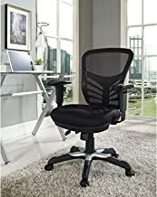 Modway Mahmayi Articulate Ergonomic 360-Degree Swivel Chair, Black, 26.5 Inch L X 26 Inch W X 37 Inch H