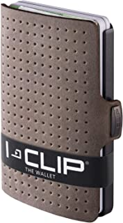 I-CLIP - AdvantageR Leather - Slim Wallet - Minimalist, Thin Design & Money Clip