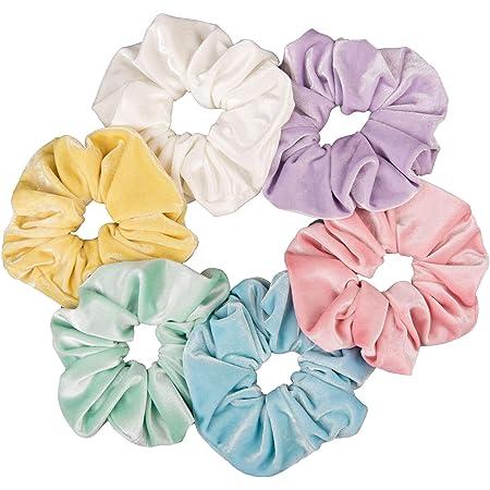 Large Fluffy silk Scrunchies Gift Satin shiny Scrunchies Jumbo silk Scrunchies Mix /& Match Big Giant Scrunchies
