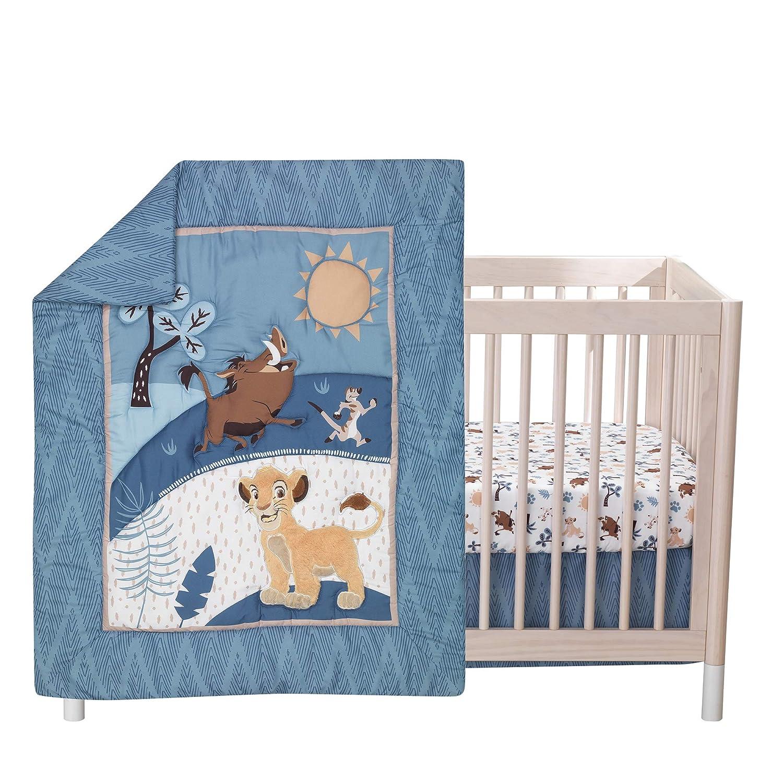 Lambs Ivy Lion King Popular popular Adventure 3Piece Baby Bl Bedding Crib Columbus Mall Set