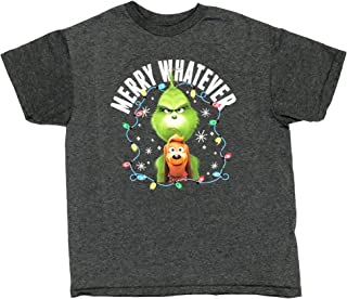 Grinch Little & Big Boys Merry Whatever T Shirt