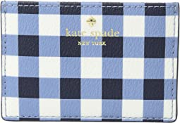 Hyde Lane Gingham Card Holder