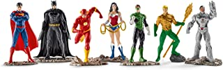 DC Comics Schleich Set de Personajes la Liga de la Justicia - Diferentes Figuras
