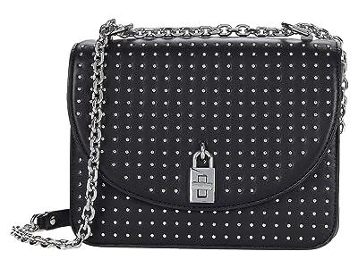Rebecca Minkoff Love Too Crossbody (Black 1) Handbags