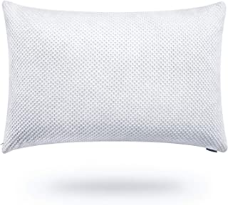 Veken Pillows for Sleeping, Hypoallergenic Shredded Gel Memory Foam Bed Pillows with Removable Breathable Cooling Cover for Side, Back, Stomach Sleepers, Adjustable Loft & Neck Pain Relief, Queen Size