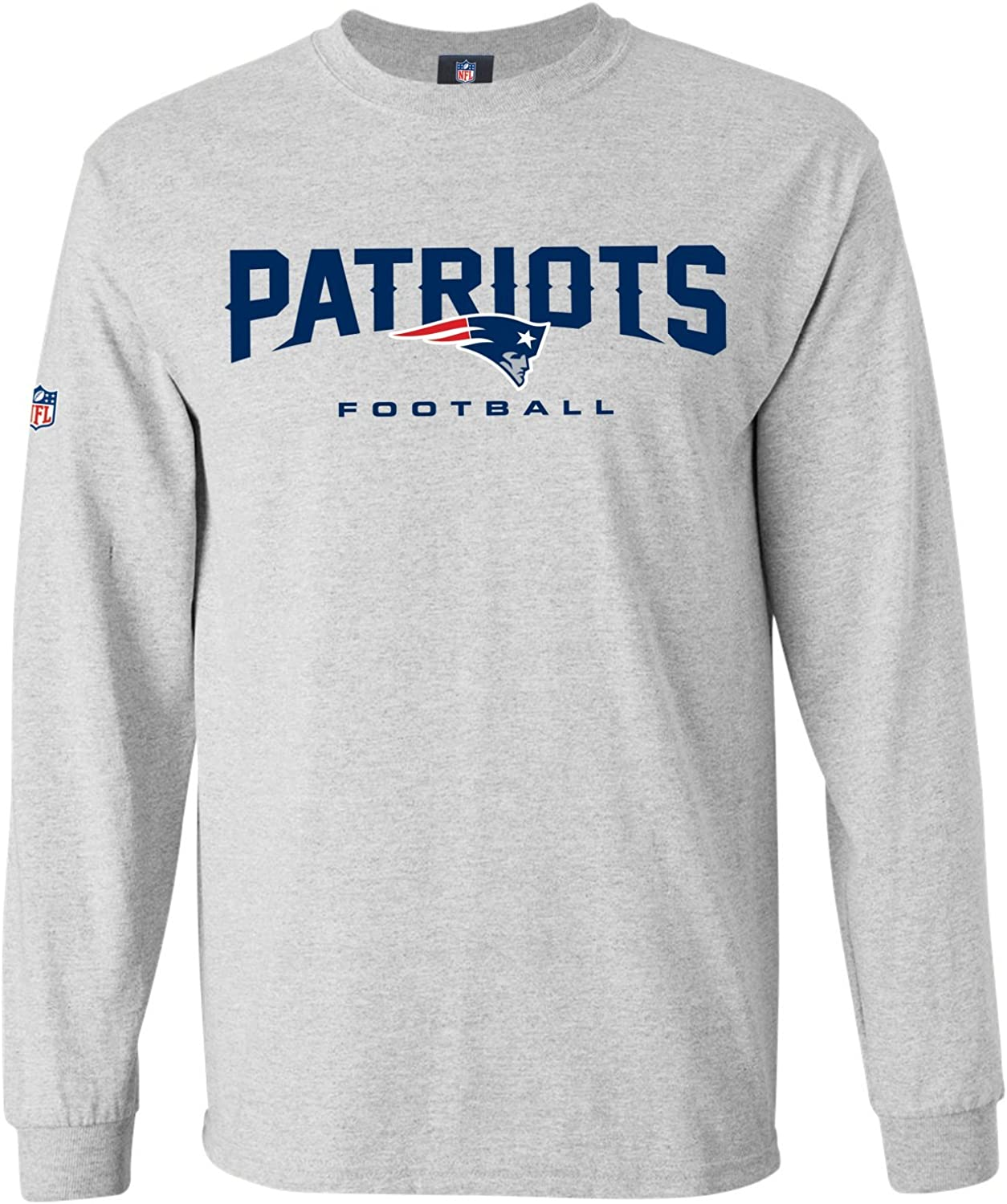 Majestic Our Team Longsleeve  New England Patriots Grey