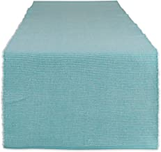 DII Two-Toned Collection Tabletop, Table Runner, 13x108, Aqua