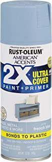 Rust-Oleum 327925 American Accents Spray Paint, Satin French Blue