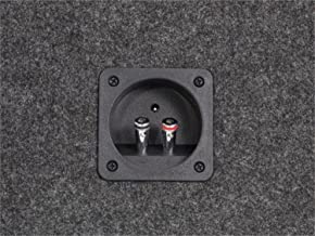 Scosche SE12CC 12-Inch Single Subwoofer Enclosure (Grey/Black)