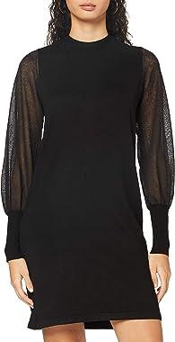 Vero Moda Vmbellissimo Ls U-Back Dress GA Robe de Cocktail Femme