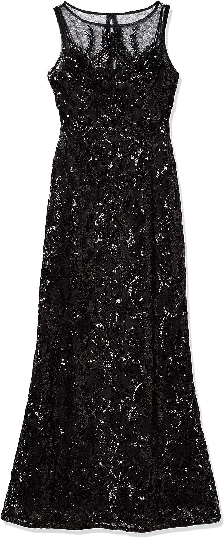 Adrianna Papell Women's Sequin Chiffon Dress