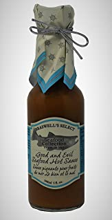 Braswells Seafood Collection Good and Evil Seafood Hot Sauce, 5 Fluid Ounce