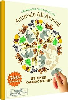 Mrs. Grossman's Animals All Around Sticker Art Activity Book, Multi