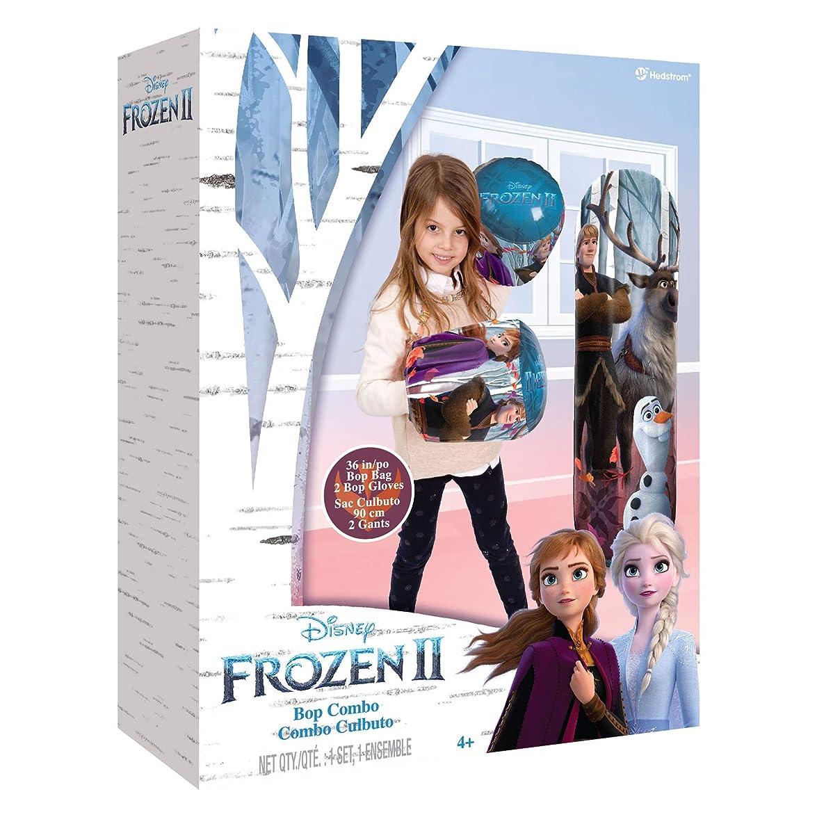 スラムチキンまたはどちらかHedstrom ディズニー アナと雪の女王 2 36インチ ボップバッグ&グローブコンボ
