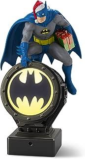Hallmark Keepsake Christmas Ornament 2018 Year Dated, DC Comics Batman Peekbuster With Motion-Activated Sound