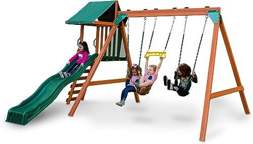Swing-N-Slide Wooden Swing - Best Swing Sets Under 1000$