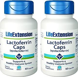 Life Extension Lactoferrin 60 capsules 2-Pack