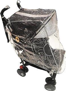 Capa de Chuva para Carrinho de Bebê, Clingo, Preto